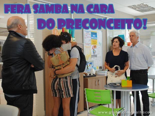 #FeRita é mto amor, glr! QUe casal mais fofo <3 (Foto: Malhação / Tv Globo)