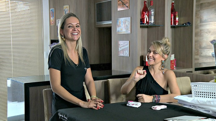 Gabriela Corrêa Personal Organizer Mistura com Rodaika (Foto: Maicon Hinrichsen/RBS TV)