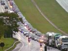 Movimento na Washington Luís deve chegar a 430 mil veículos no 'feriadão'