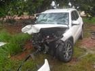 Bebê morre em consequência de acidente em rodovia em Iacri