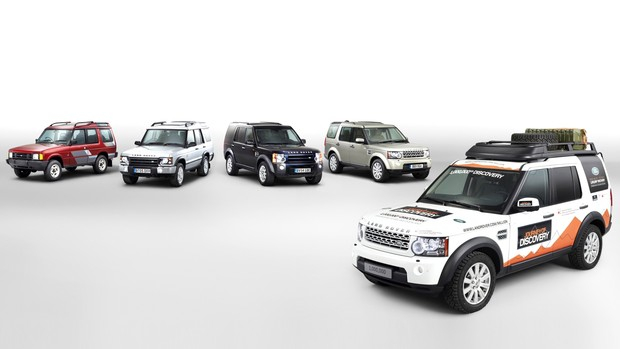 Veja 25 anos de história do Land Rover Discovery