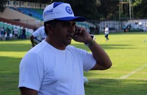 Batista Filho, presidente do Parnahyba (Foto: Emanuele Madeira/GLOBOESPORTE.COM)