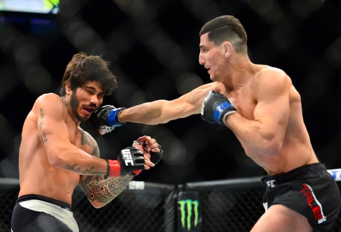 Nordine Taleb Erick Silva UFC 196 (Foto: Jason Silva)