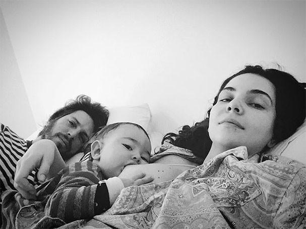 Henrique Sauer, Martin e Tainá Müller (Foto: Reprodução/Instagram)