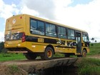 Alunos podem ficar sem aula por falta de combustível em ônibus escolar