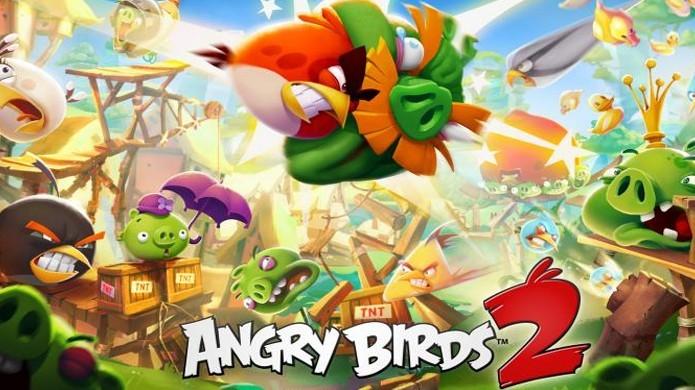 Angry Birds 2 bate recorde de antecessor com 20 milhões de downloads na primeira semana (Foto: Divulgação/Rovio)