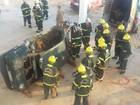 Bombeiros recebem instruções de salvamento em ferragens em RO