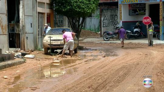 Comerciantes de Francisco Morato calculam perdas de mais de R$ 120 mil com chuva