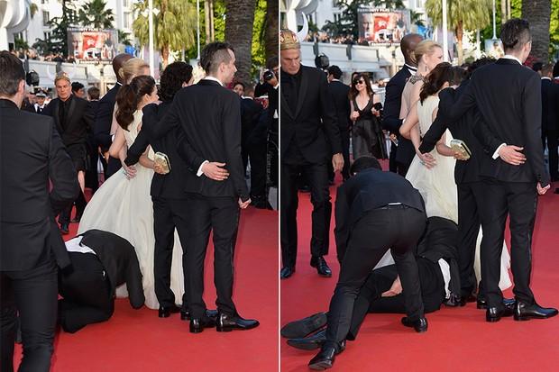 Homem invade o tapete vermelho no Festival de Cannes (Foto: Getty Images)