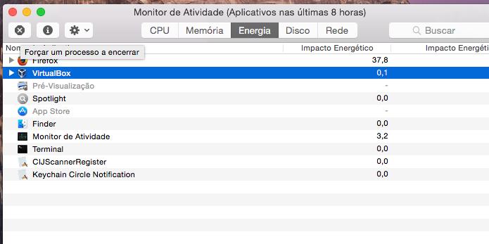 Fechando um aplicativo com o Monitor de Atividade (Foto: Reprodução/Edivaldo Brito)