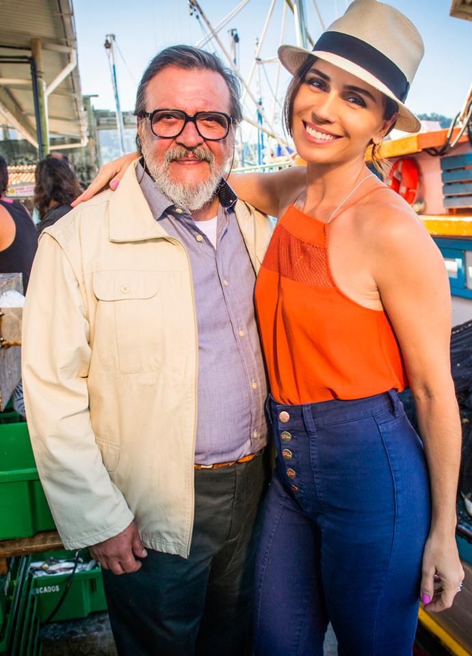 Giovanna Antonelli será filha de Luis Melo na próxima novela das 6  (Foto: João Miguel Junior / TV Globo )