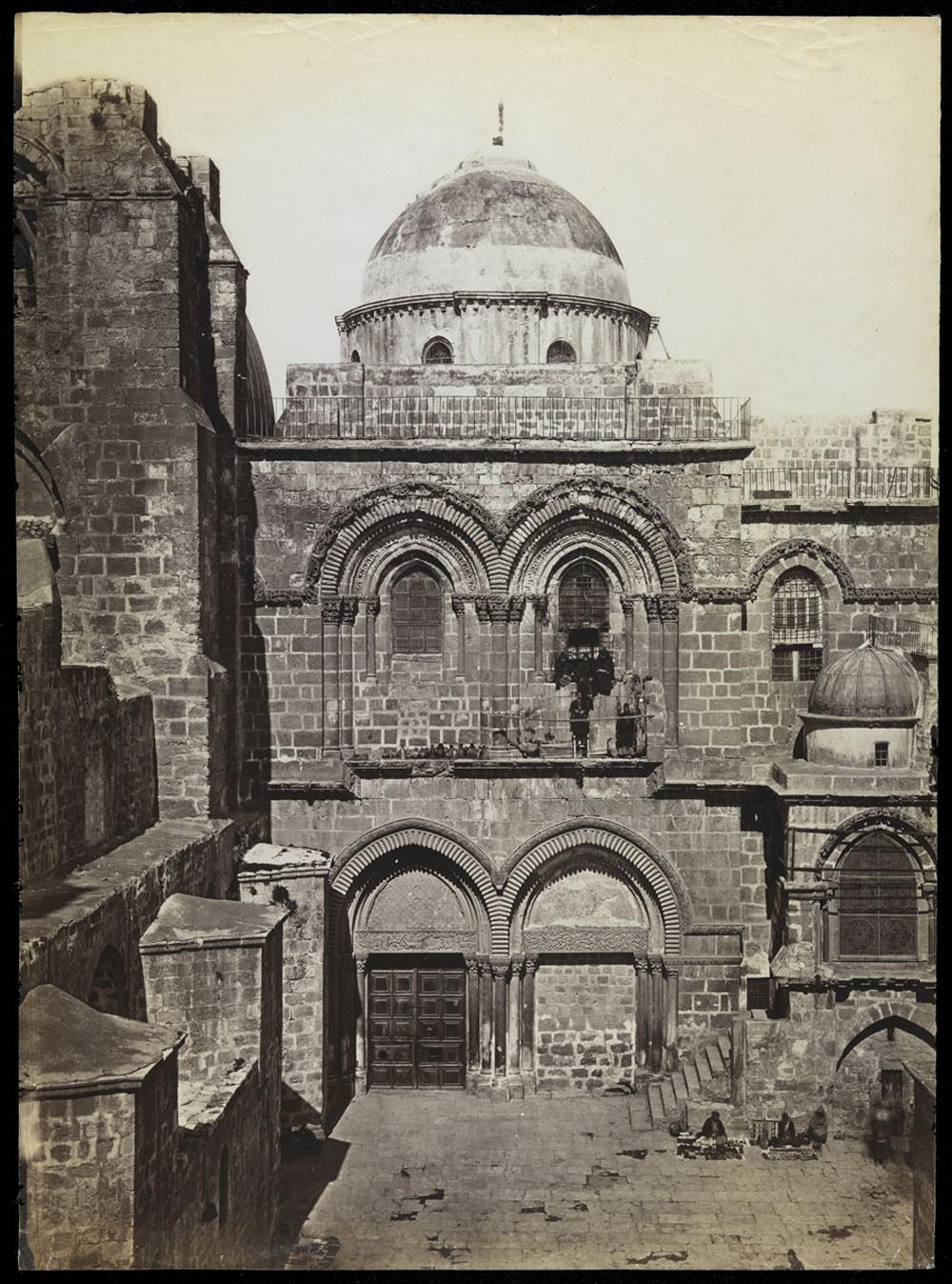 Fotografia de Jerusalém que faz parte do acervo