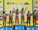 Na terceira final com Ágatha e Duda, Larissa e Talita vencem em Aracaju