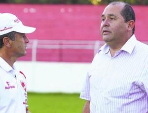 Robélio Schneiger e Marcos Martinez (Foto: O Popular)
