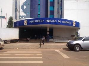 Ministério Público de Rondônia (Foto: Ísis Capistrano/G1)