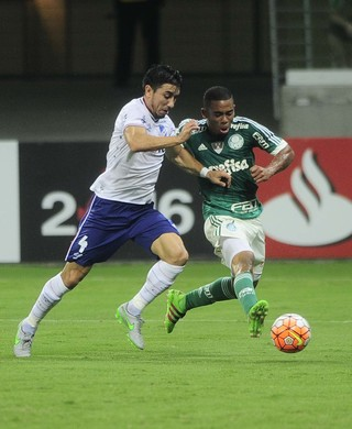 Gabriel Jesus Fucile Nacional Palmeiras Libertadores (Foto: Marcos Ribolli)
