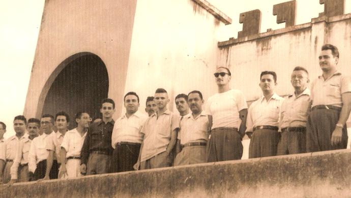 ABC 100 anos Diretoria 1950 (Foto: Leonardo Arruda / Acervo pessoal)