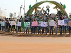 Alunos do Ifro protestam contra reforma de ensino médio e PEC 241