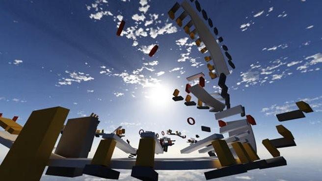 Conheça Jet Car Stunts 2: um jogo de corrida com uma proposta