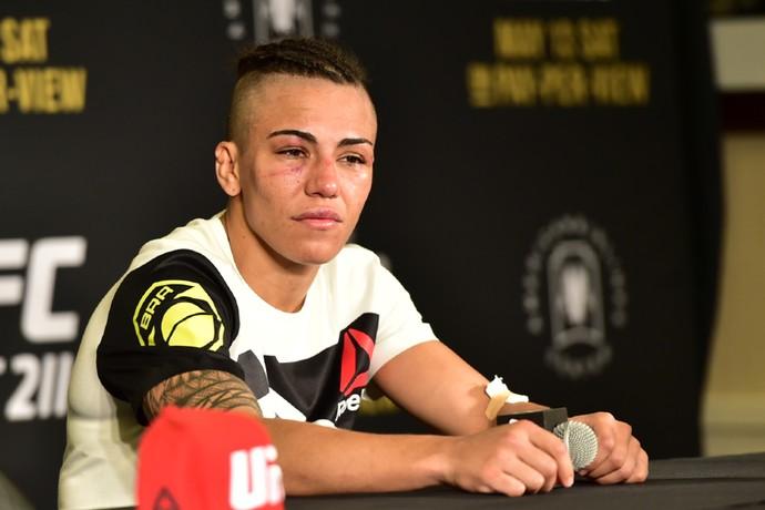 Jéssica Andrade; Jéssica Bate-Estaca; UFC 211 (Foto: Jason Silva)