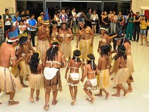 Durante a programação foram realizadas várias apresentações culturais (Foto: RCCaleffi/Divulgação)