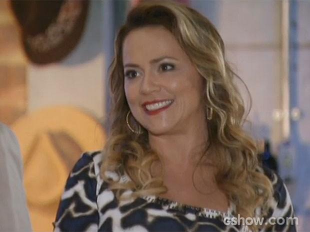 Shirley provoca Helena (Foto: Em Família/TV Globo)
