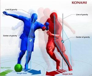 Sistema de física de colisão permitirá disputas mais realistas pela bola em 'PES 2014' (Foto: Divulgação/Konami)