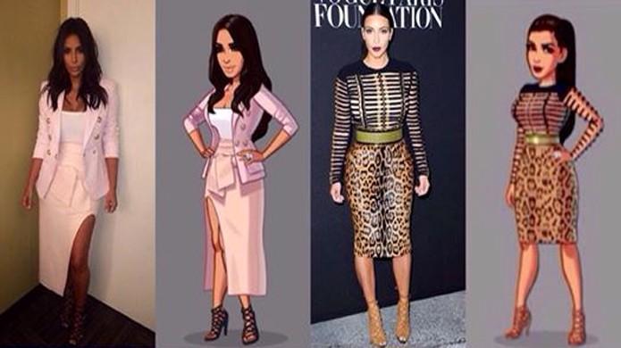 Kim Kardashian visitará o Rio de Janeiro e também deverá receber novas roupas (Foto: Gaming Everywhere)