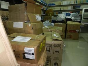 Farta documentação foi recolhida pelo MP em prédios da Assembleia (Foto: Ascom/MP)