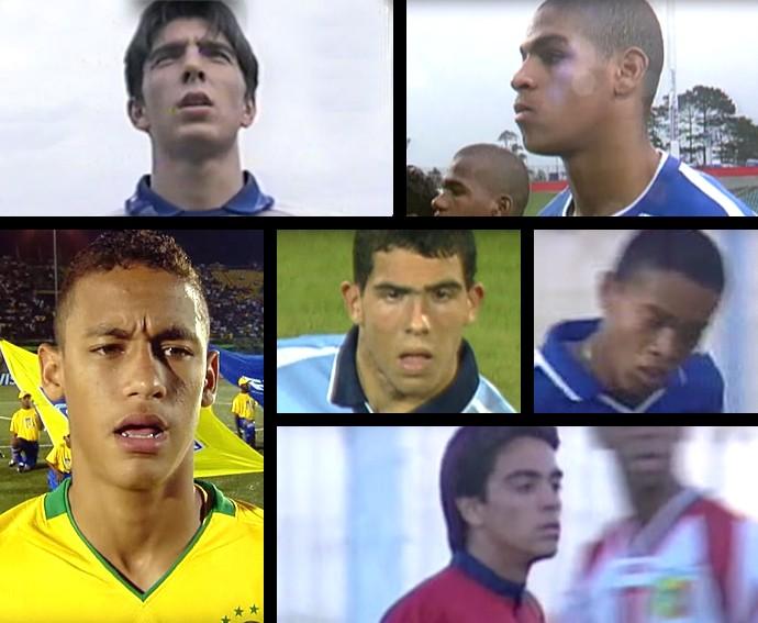 BLOG: Veja imagens de Neymar, Xavi e Ronaldinho no Mundial Sub-17