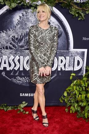 Anna Faris em première de filme em Los Angeles, nos Estados Unidos (Foto: Frazer Harrison/ Getty Images/ AFP)