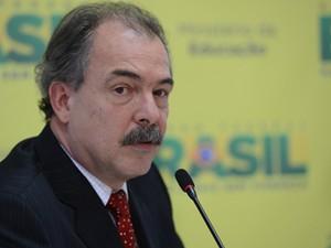 O ministro da Educação, Aloizio Mercadante, divulga balanço final do Sisu (Foto: Fabio Rodrigues Pozzebom/ABr)
