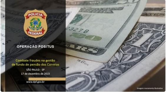A Polícia Federal deflagrou investiga o desvio de R$180 milhões do Postalis, o fundo de pensão dos Correios (Foto: reprodução/Twitter)