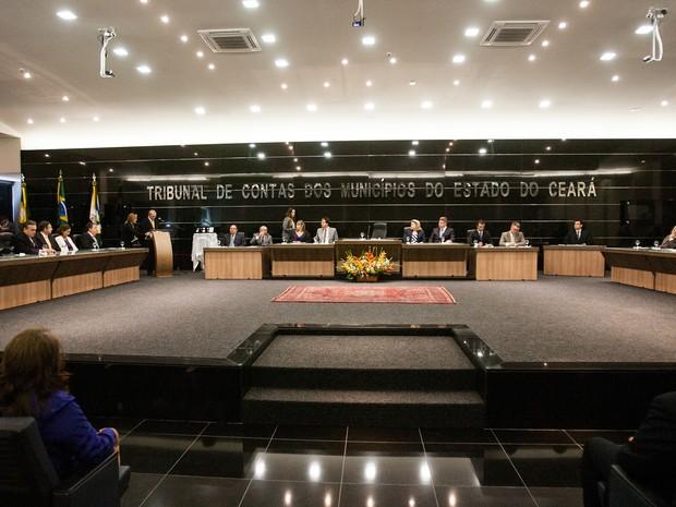 Tribunal de Contas dos Municípios do Estado do Ceará (Foto: Agência Diário)