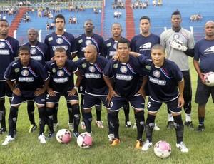 time do Espírito Santo (Foto: Divulgação)