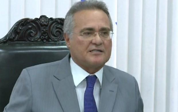 Renan critica ação no Senado (GloboNews)