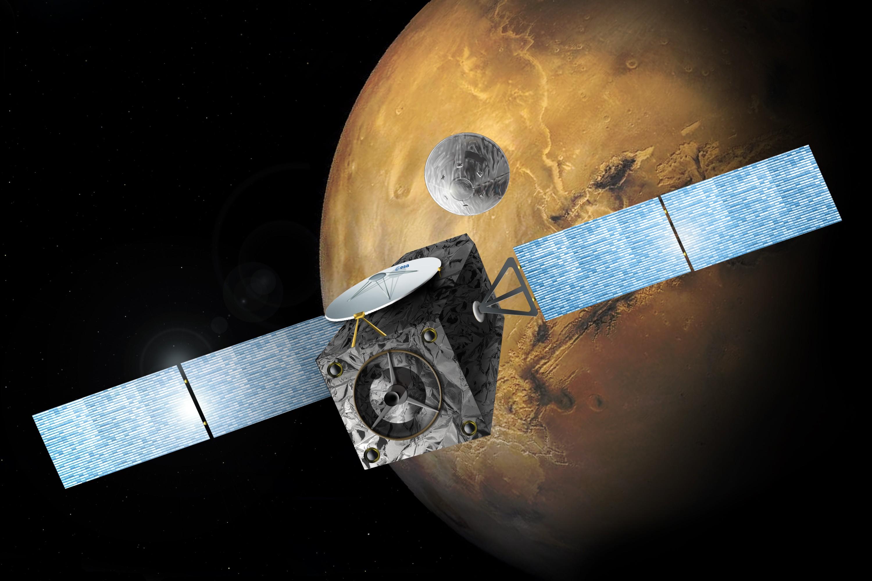ExoMars 2016 liberará um módulo de testes de pouso e uma sonda na órbita de Marte (Foto: Divulgação)
