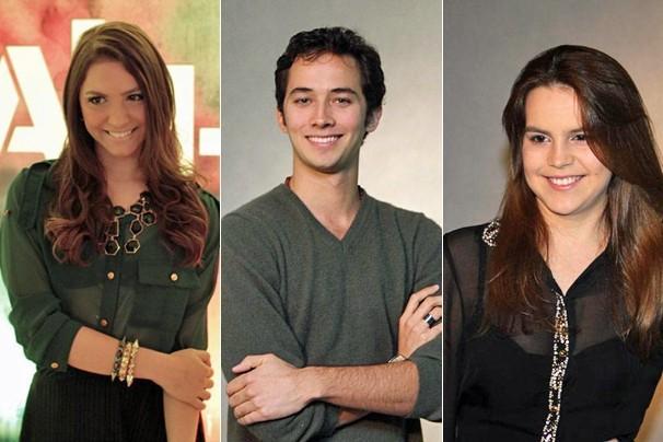Laís Pinho, Gabriel Falcão e Bianca Salgueiro, três jovens talentos da nova temporada de Malhação (Foto: Nathalia Fernandes/Globo)