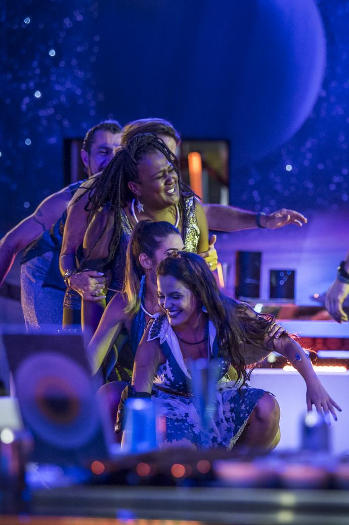 BBB17 dançando (Foto: Artur Meninea/Gshow)