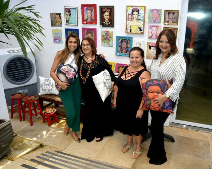 """Exposição """"Caminhos de Luz"""" tem como objetivo exaltar a arte piauiense (Foto: Programão )"""