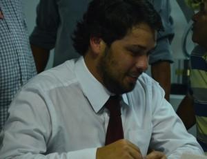 Marcos Souto Maior, advogado da FPF (Foto: Larissa Keren / GloboEsporte.com/pb)