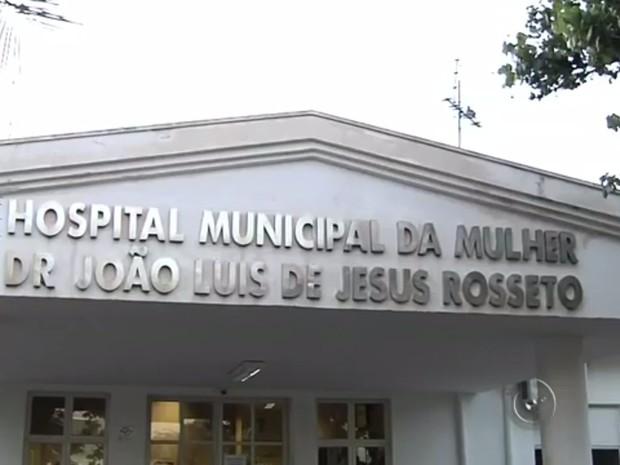 Hospital da Mulher, de Araçatuba (Foto: Reprodução/TV TEM)