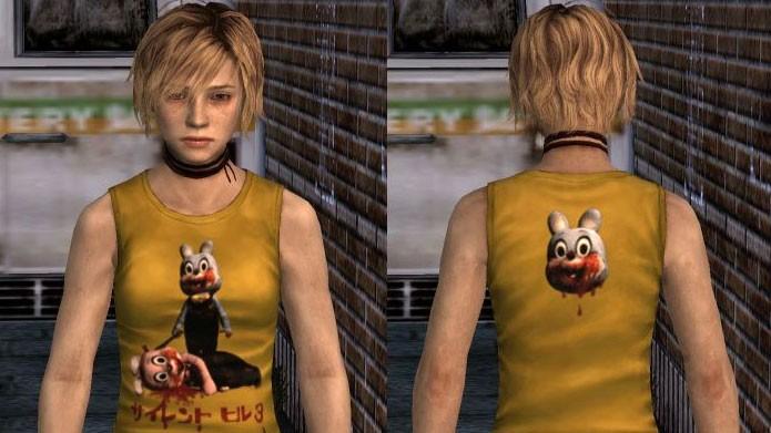 Coloque os códigos no novo menu para destravar as roupas extras de Heather (Foto: Reprodução/Silent Hill Wikia)