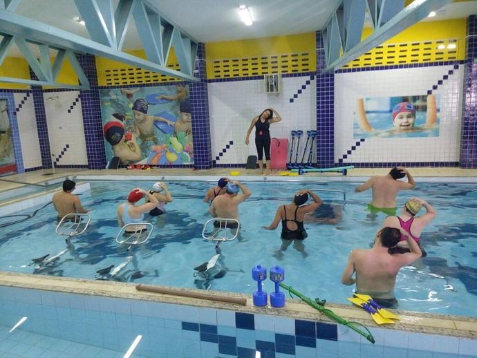Aquacross é novidade no mundo fit (Foto: Fernando Petrônio)