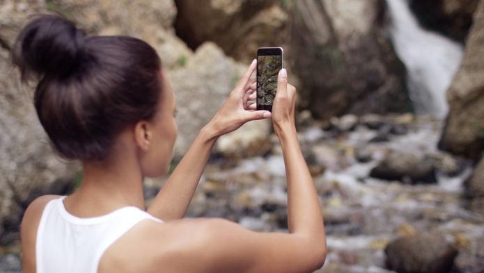 Tirar fotos em 360 graus é muito simples (Foto: Divulgação/Facebook)