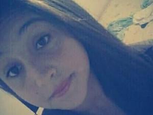 Adolescente de 13 anos desapareceu com namorado, de 19 (Foto: Maíra Pinho/Arquivo Pessoal)