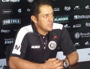 Maurílio Silva, técnico do ASA (Foto: Carlos Frazão/Arquivo Pessoal)
