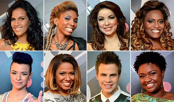 Vencedores finalistas (Foto: The Voice Brasil / Tv Globo)
