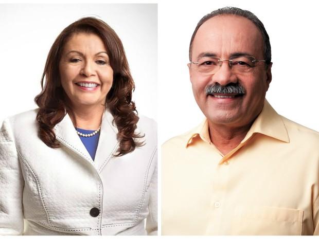 Suely Campos e Chico Rodrigues (Foto: Divulgação)