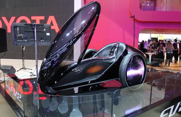 Toyota FV2 Concept no Salão do Automóvel 2014 (Foto: Fabio Aro/Autoesporte)